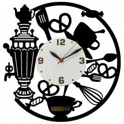ساعت دیواری آذرلاکچری طرح آشپزخانه کد001