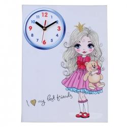 ساعت دیواری کودک مدل پرنسس کد112