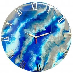 ساعت دیواری طرح ابر و باد کد SDB_350