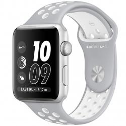 ساعت هوشمند اپل واچ 2 مدل Nike Plus 42mm Silver with Silver/White Band