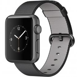 ساعت هوشمند اپل واچ مدل 38mm Aluminum Case With Black Woven Nylon