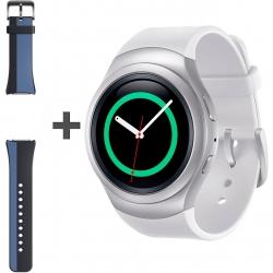 ساعت هوشمند سامسونگ مدل Gear S2 SM-R720 به همراه بند لاستیکی اضافه