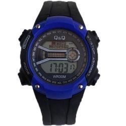 ساعت مچی دیجیتال پسرانه کیو اند کیو مدل هفت رنگ کد 450