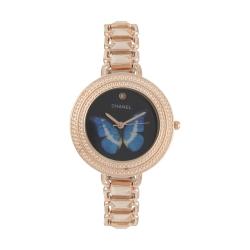 ساعت مچی عقربه ای دخترانه شانل مدل 1-1764