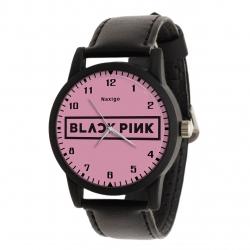 ساعت مچی عقربه ای ناکسیگو طرح Black Pink کد LF4173