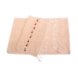 شال دست باف زنانه آرانیک مدل بخارادوزی کد 1213000029
