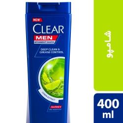 شامپو ضد شوره مردانه کلییر مدل Lemon Extract حجم 400 میلی لیتر