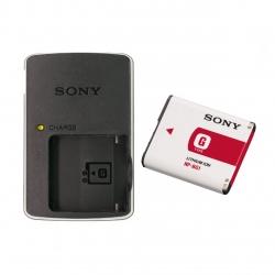 شارژر باتری دوربین سونی مدل BG1 به همراه باتری