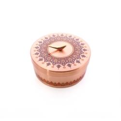 شکلات خوری دردار مسی با تزیین نقوش سنتی کد 1001200103
