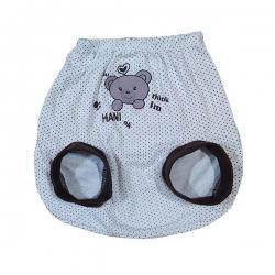 شورت نوزاد طرح خرس کد 1010