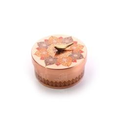 شکلات خوری دردار مسی با تزیین نقوش سنتی کد 1001200060