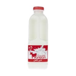 شیر کامل مانیزان حجم 950 میلی لیتر