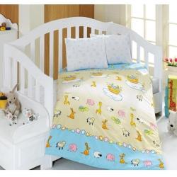 سرویس خواب 4 تکه کودک ماژولی مدل Animals