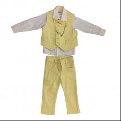 ست 3 تکه لباس پسرانه دکتر جونیور مدل 001