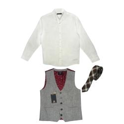 ست 3 تکه لباس پسرانه نکست مدل لوک شارپ