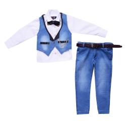 ست 5 تکه لباس پسرانه مدل MA-SP81095-SET.RS.LEE-AB                     غیر اصل