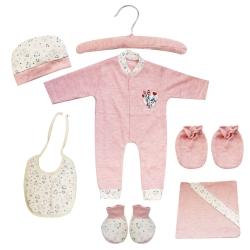 ست 7 تکه لباس نوزادی مادرکر طرح خرگوش کد M454.4