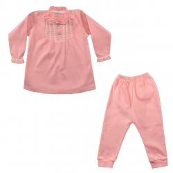 ست بلوز و شلوار نوزادی نیروان کد PR-2