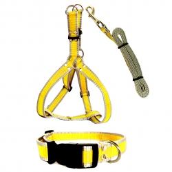 ست قلاده کتفی و قلاده گردنی سگ هایپت مدل YB25