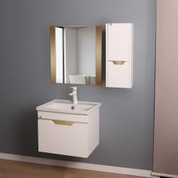 ست کابینت و روشویی دلفین مدل 1029-G به همراه آینه و باکس