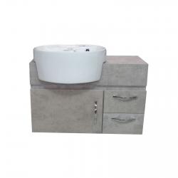 ست کابینت و روشویی مدل MILTU70