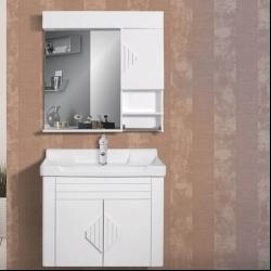ست کابینت و روشویی مدل نگین به همراه آینه و باکس