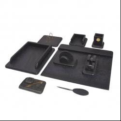 ست لوازم اداری رومیزی مدل کوروش 01 مجموعه 10 عددی
