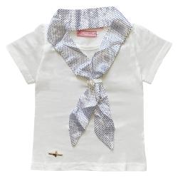 ست پیراهن و پاپیون دخترانه لاوبل مدل نگین کد FF-259