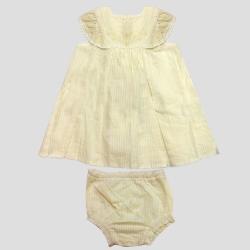 ست پیراهن و شورت نوزادی دخترانه بوتیک مدل mi58