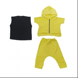 ست سه تیکه لباس بچگانه کد 7209-3