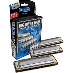 ست سه عددی سازدهنی دیاتونیک هوهنر مدل Big River Harp
