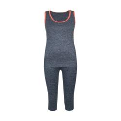 ست تاپ و شلوارک ورزشی زنانه کد moline-tu-gol 001