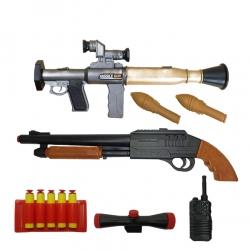 ست تفنگ بازی گلدن گان مدل naabsell33 مجموعه 7 عددی