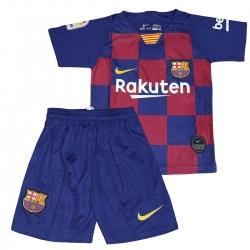 ست تیشرت و شلوارک ورزشی بچگانه بارسلونا 2019-20                     غیر اصل