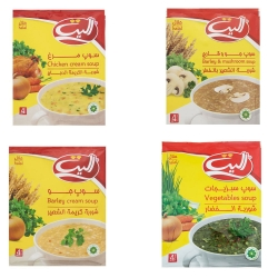 سوپ نیمه آماده الیت – 65 گرم بسته 4 عددی