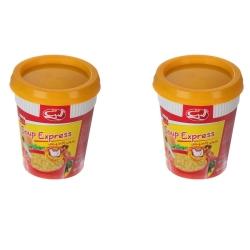 سوپ نیمه آماده مرغ و ورمیشل الیت – 35 گرم بسته 2 عددی