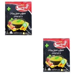 سوپ سبزیجات و ورمیشل الیت پلاس – 85 گرم بسته 2 عددی