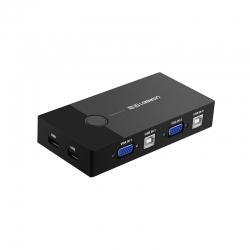 سوییچ 2 پورت USB KVM یوگرین مدل 30357