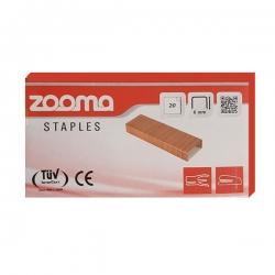 سوزن منگنه زوما کد 20 سایز 24/6 بسته 20000 عددی