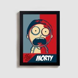 تابلو مدل ریک و مورتی rick and morty BL15