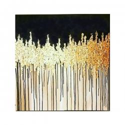 تابلو نقاشی ورق طلا مدل S023