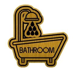 تابلو راهنما طرح حمام کد BATH1-MT