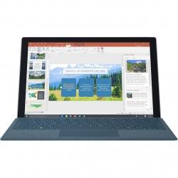 تبلت مایکروسافت مدل Surface Pro 2017 – F به همراه کیبورد سیگنیچر رنگ آبی کبالت و کیف چرم صنوبر  – ظرفیت 1 ترابایت