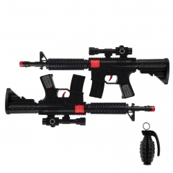 تفنگ بازی گلدن گان مدل naabsell29 مجموعه 3 عددی