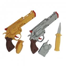 تفنگ بازی مدل هفت تیر کد b3 مجموعه 5 عددی