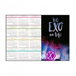 تقویم دیواری سال 1400 طرح EXO اکسو tx3