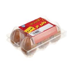 تخم مرغ راگا پروتئین جهان بسته 6 عددی
