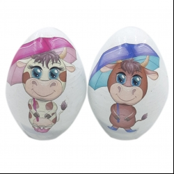 تخم مرغ تزئینی مدلsj112 مجموعه دو عددی