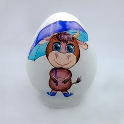 تخم مرغ تزیینی مدل گاو