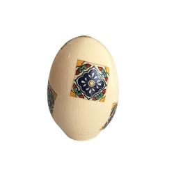 تخم مرغ تزیینی مدل کاشی کد 90